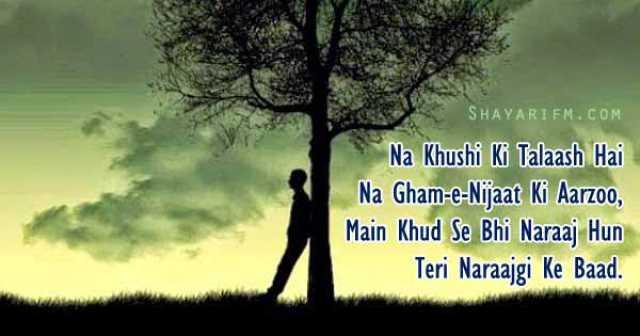 Sad Shayari, Na Khushi Ki Talaash